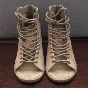 Mossimo Lace up Booties